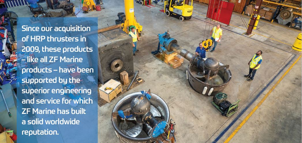 Commercial Craft Propulsion Solutions for both Workboat and
